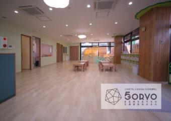 千葉市稲毛区 T保育園・ビル内の2階部分/保育室フロア内装工事