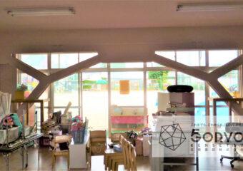 千葉市若葉区 T幼稚園・耐震補強部の設置工事
