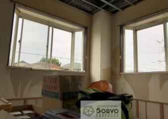 千葉市若葉区 出窓を生かしたワークスペースの設置リフォーム