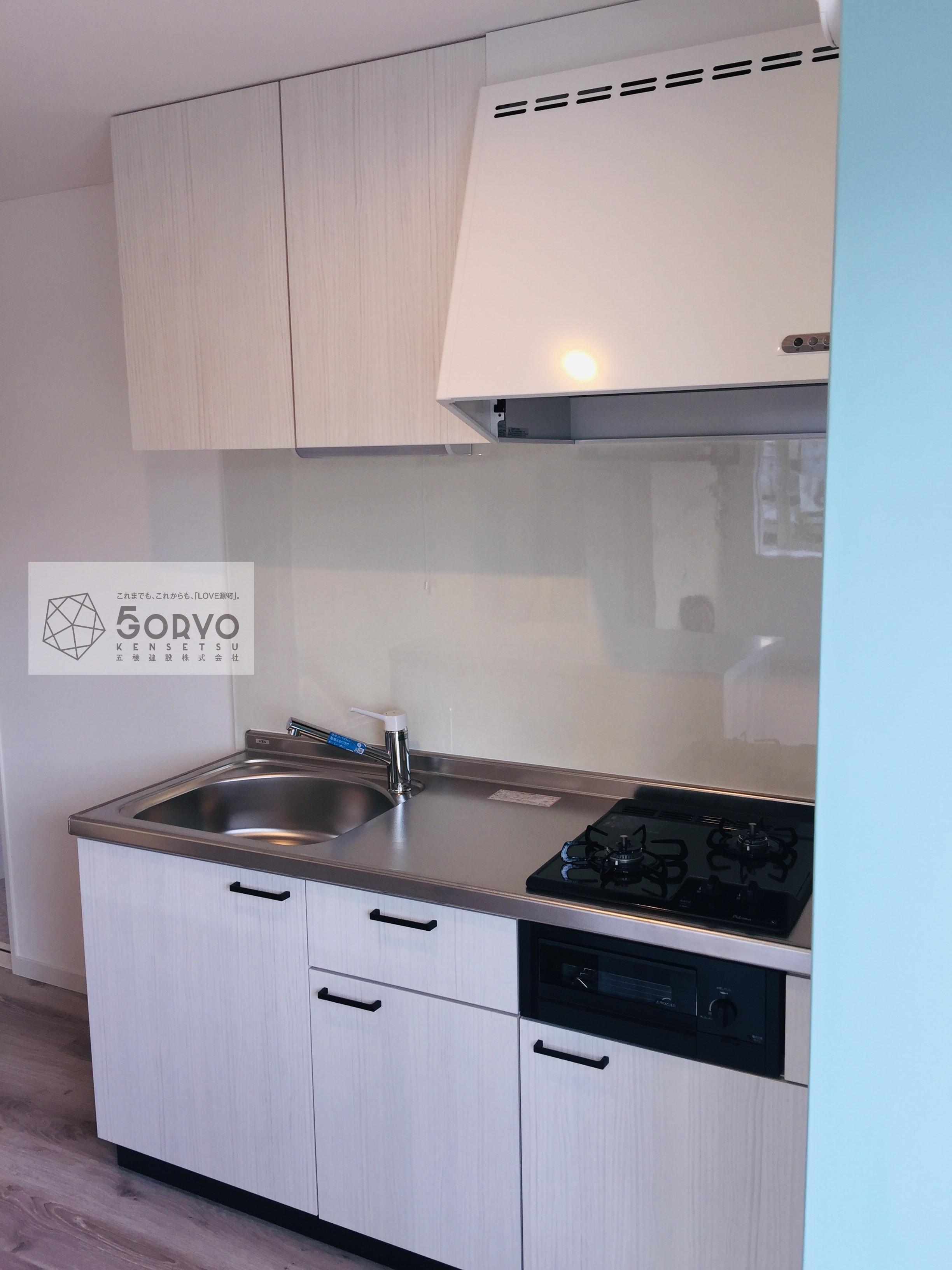 千葉市若葉区 古いキッチンを新しくリフォーム:施工後