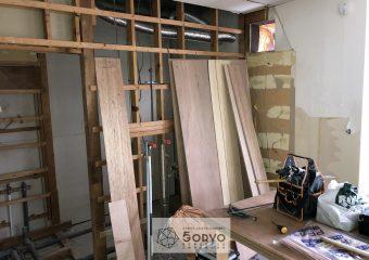 千葉市若葉区 古いキッチンを新しくリフォーム