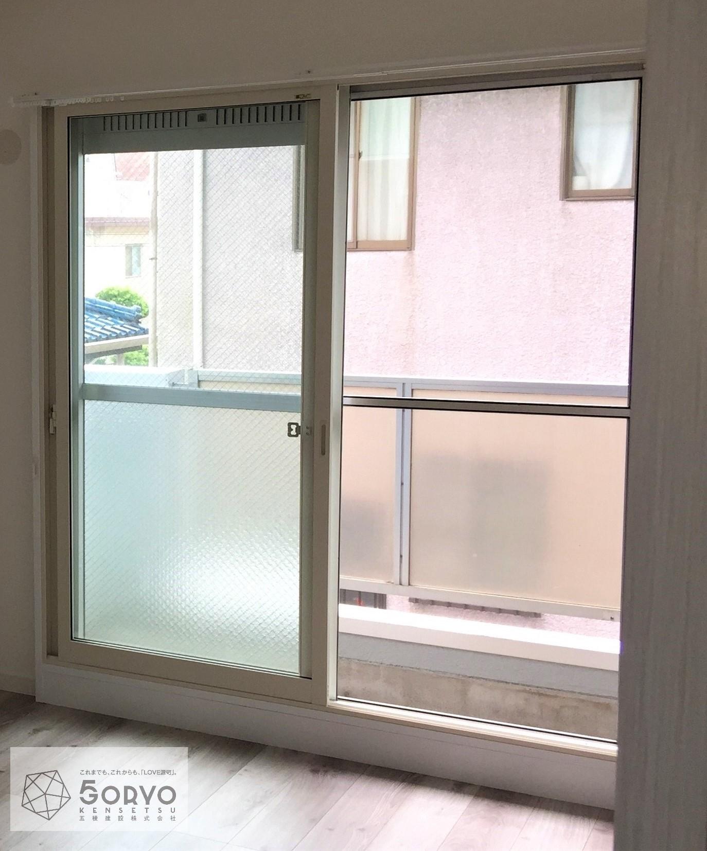 千葉市若葉区 二重窓の設置リフォームで気密性・断熱性の向上:施工後
