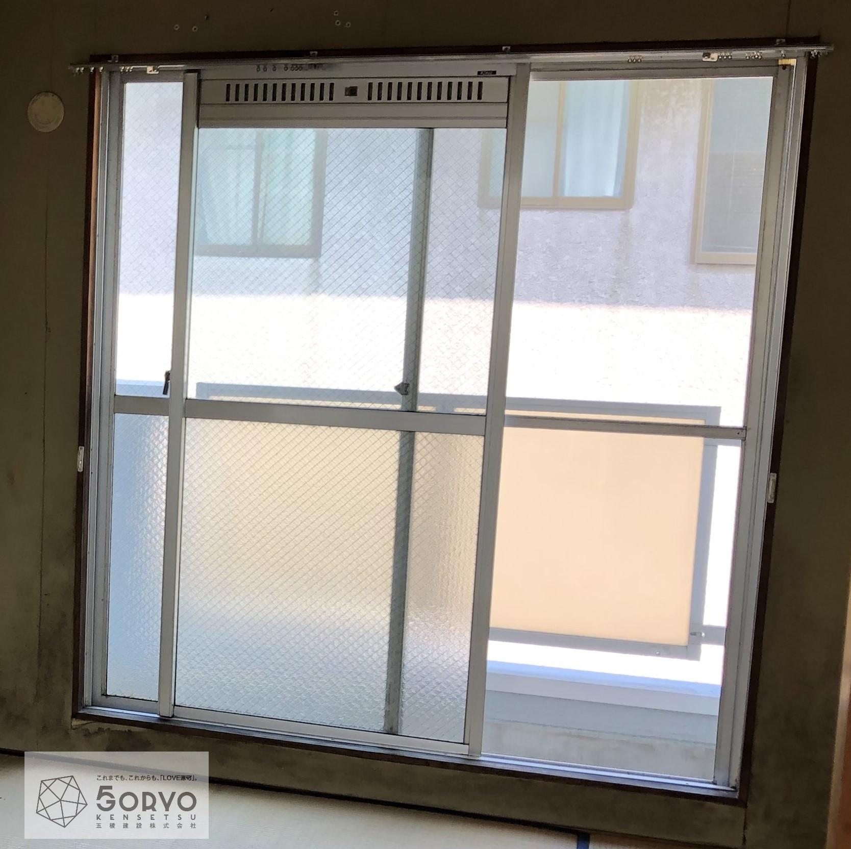 千葉市若葉区 二重窓の設置リフォームで気密性・断熱性の向上:施工前