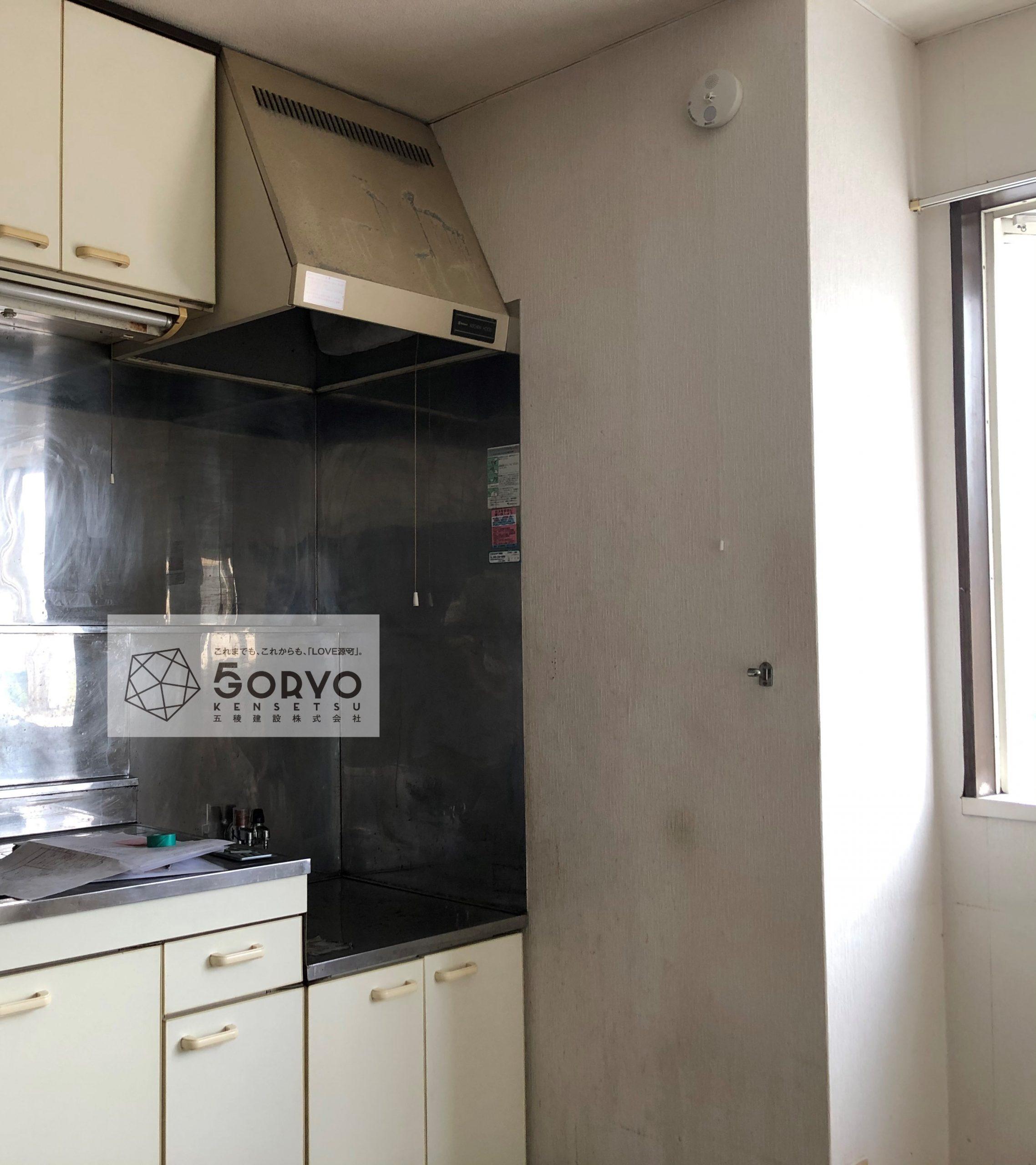 千葉市若葉区 アクセントクロスを取り入れた壁紙のリフォーム:施工前