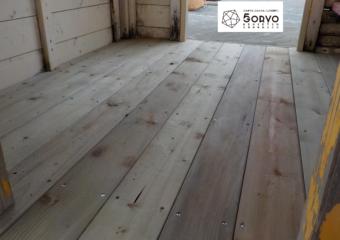千葉市若葉区M幼稚園 遊具の小屋修繕リフォーム