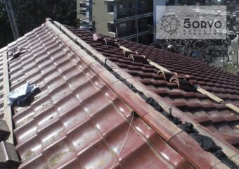 千葉市稲毛区 自治会館の瓦屋根修繕リフォーム工事