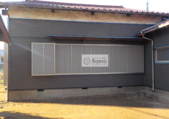 千葉市稲毛区 自治会館外壁の修繕リフォーム工事