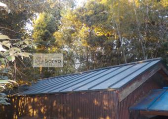 千葉市稲毛区 町の小さな神社の屋根葺き替え補修工事