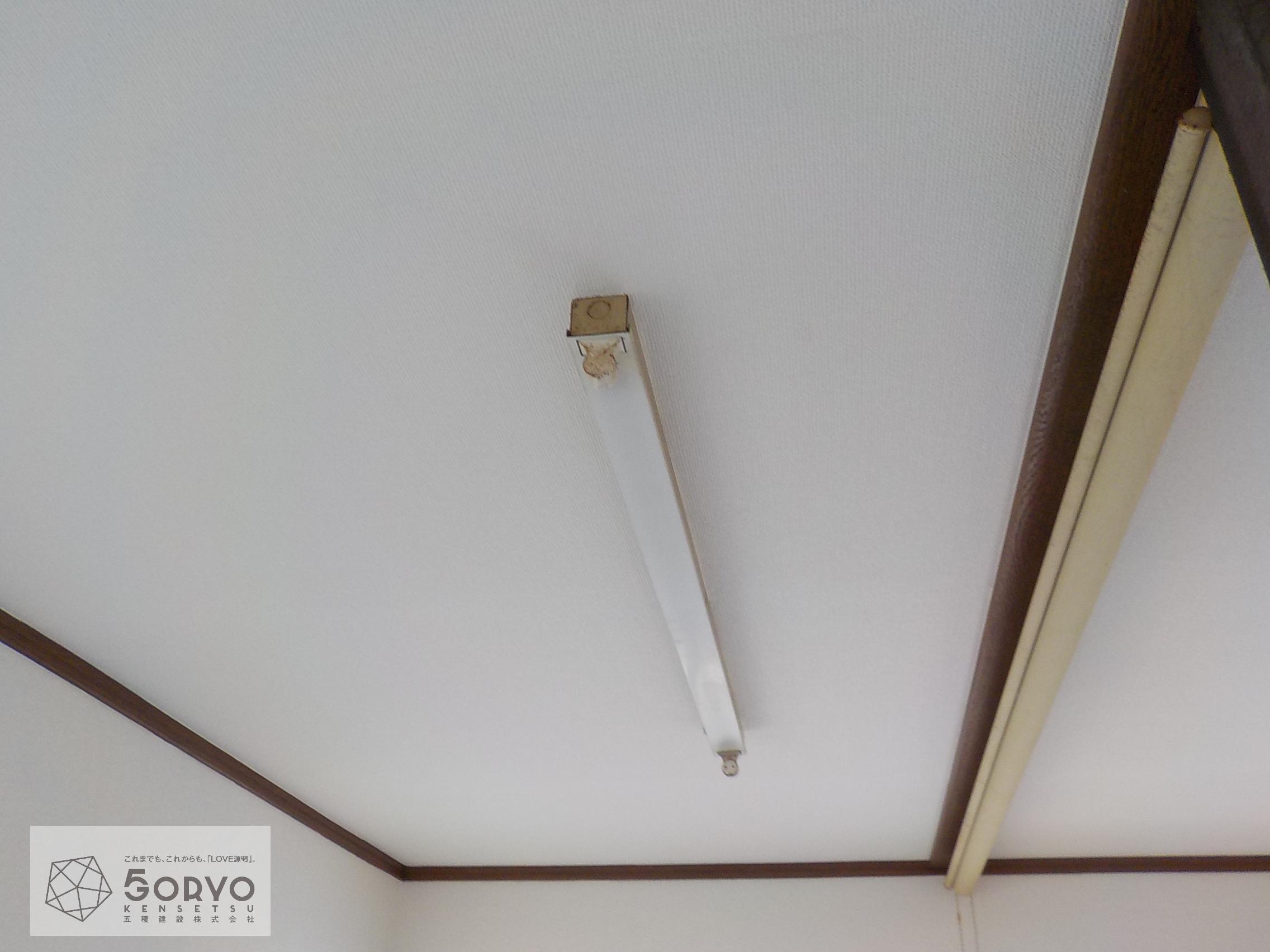 千葉市若葉区 T社従業員宿舎内装クロス交換リフォーム工事:施工後