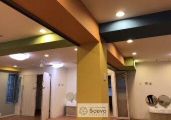 千葉市美浜区ビルを保育園へリノベーション・遊戯室part1