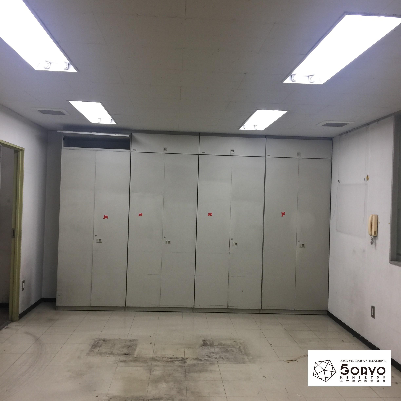 千葉市美浜区ビルを保育園へリノベーション、遊戯室part2:施工前