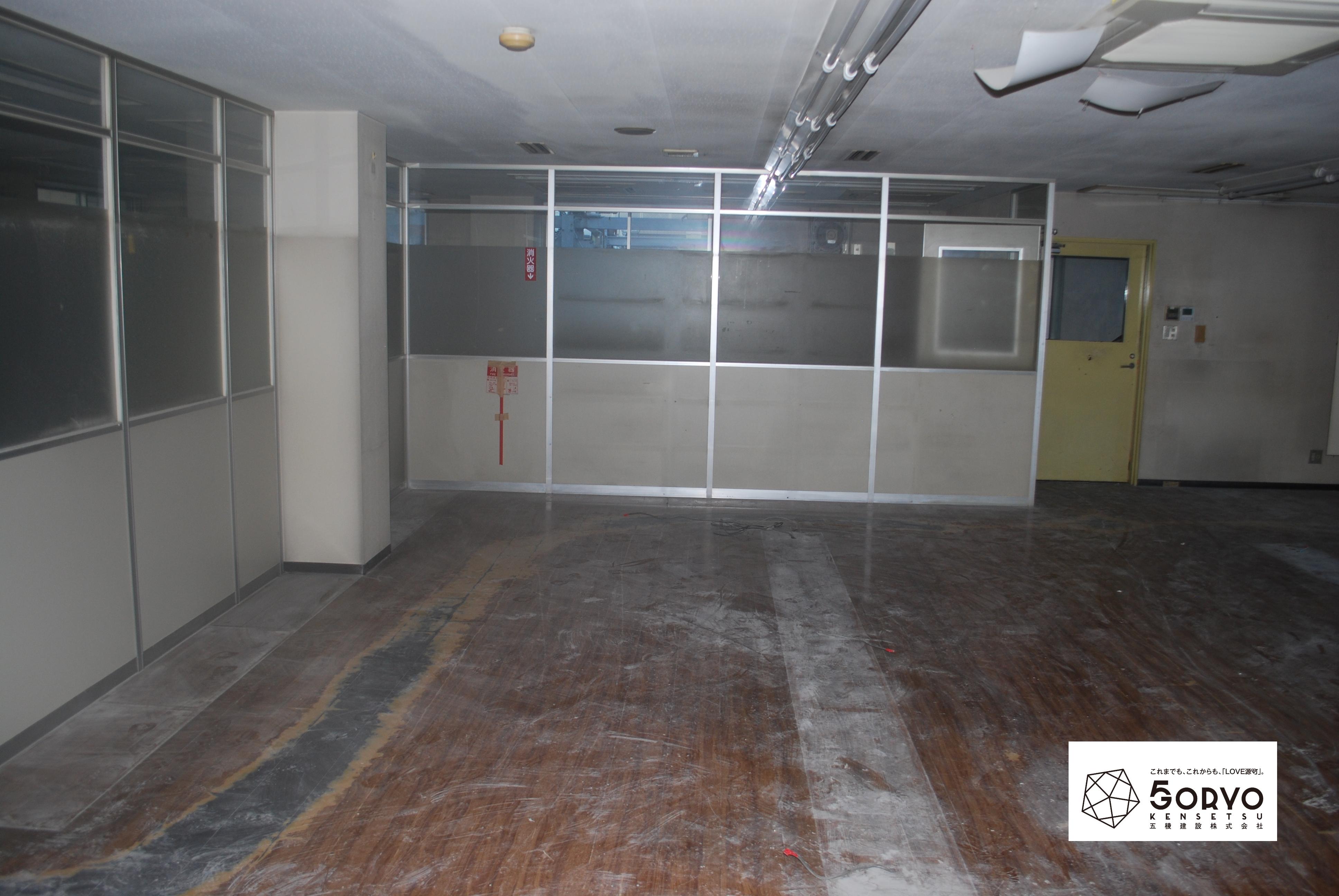 千葉市美浜区ビルを保育園へリノベーション、会議室:施工前