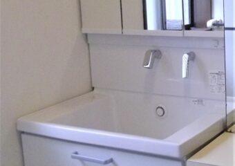 千葉市若葉区Y様邸・洗面台&床フロアリフォーム工事