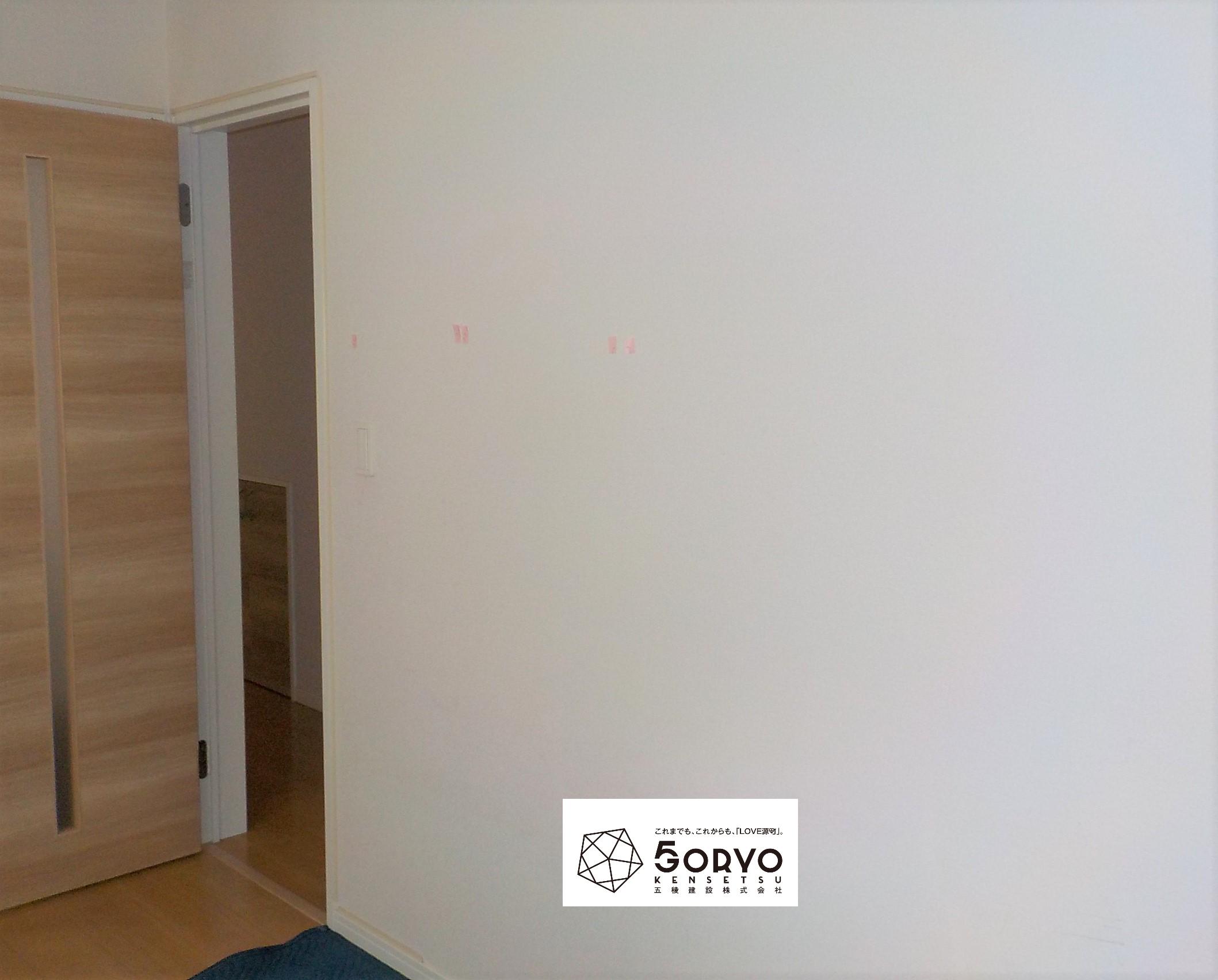 千葉市中央区M様邸 壁面収納「ニッチ」設置リフォーム:施工前