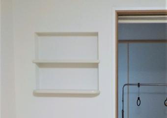 千葉市中央区M様邸 壁面収納「ニッチ」設置リフォーム