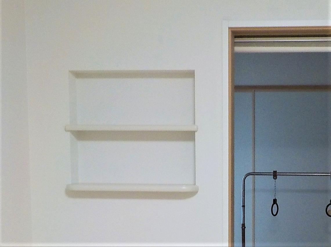 千葉市中央区M様邸 壁面収納「ニッチ」設置リフォーム:施工後