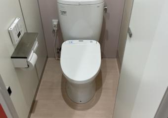 千葉県習志野市I社様女子トイレ排水不良による配管手直し工事