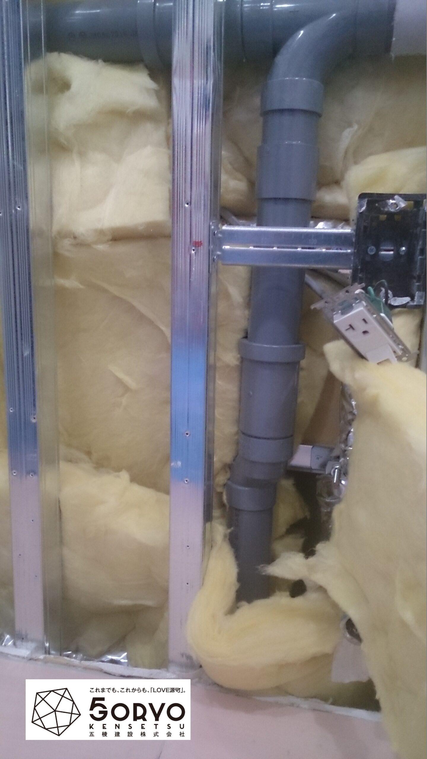 千葉県習志野市I社様女子トイレ排水不良による配管手直し工事:施工後