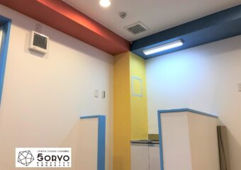 千葉市美浜区ビルを保育園へリノベーション 調乳室