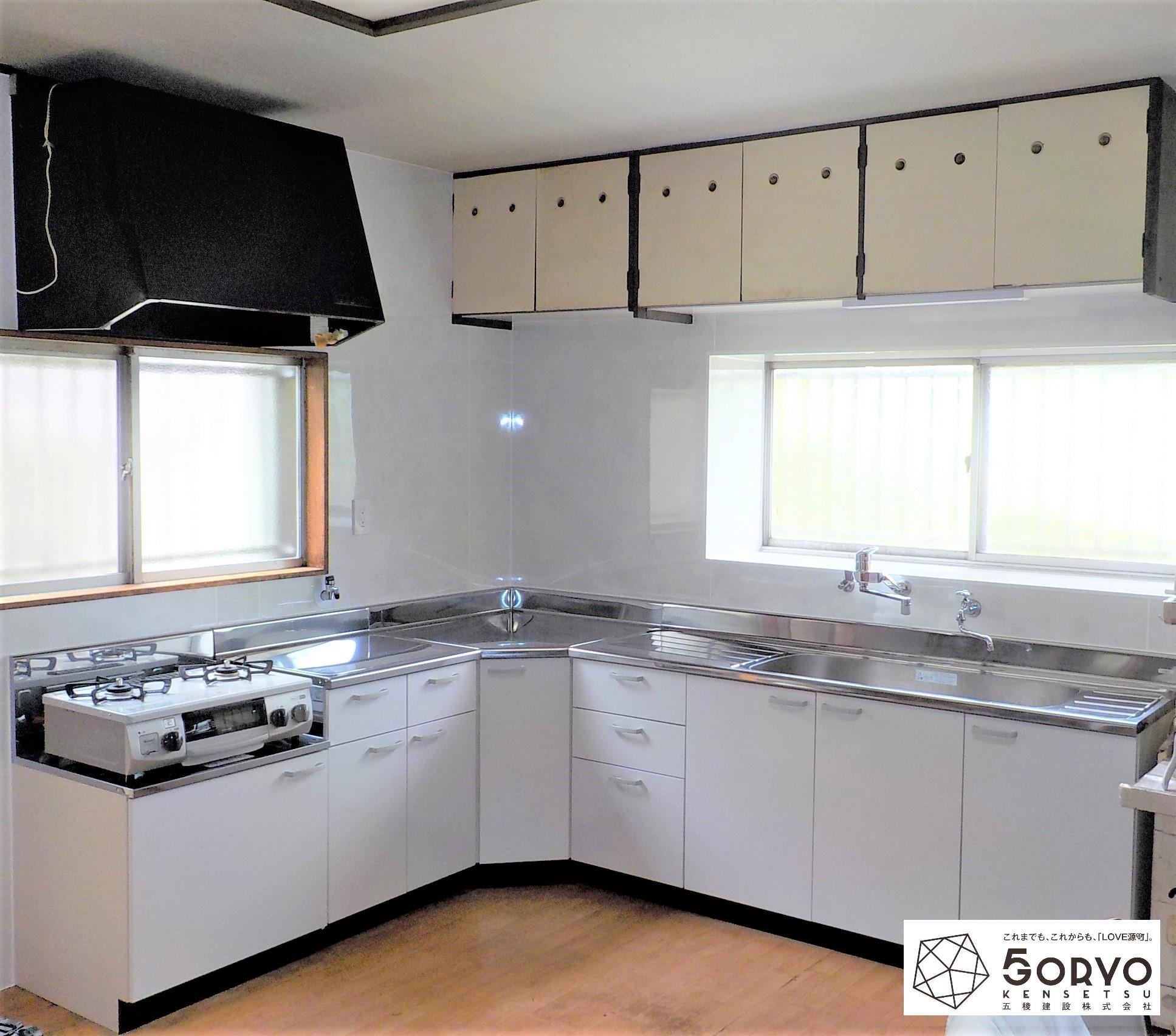 千葉市若葉区N様邸 キッチンのリフォーム:施工後