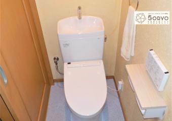 千葉市若葉区Y様邸トイレ交換・クッションフロア交換リフォーム